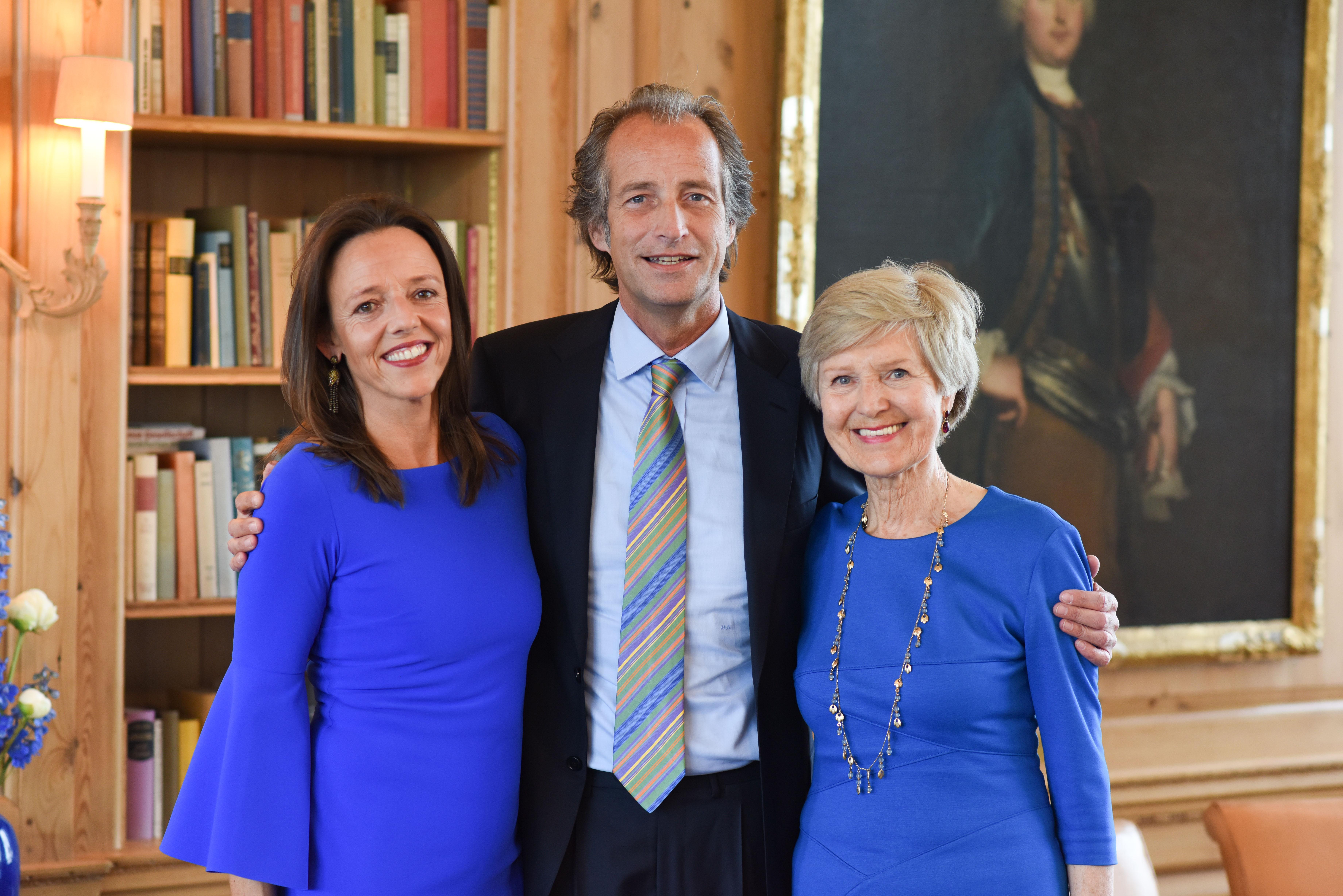 Berlin, 2.5.2017 Verleihung des Axel-Springer Award an Sir Tim Bernes-Lee. Unter den Gästen: Clarissa und Nicolaus Springer mit Verlegerin Friede Springer