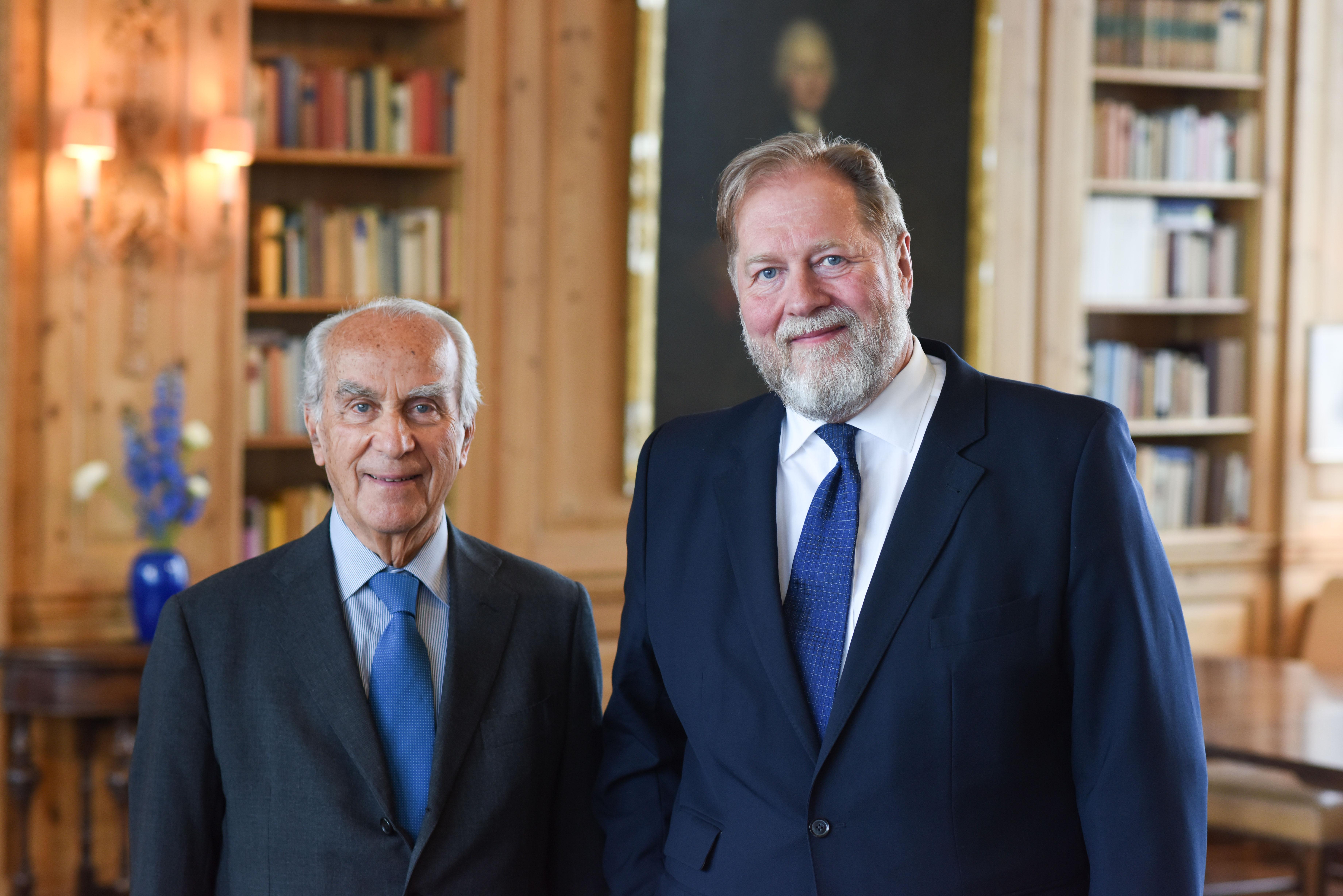 Berlin, 2.5.2017 Verleihung des Axel-Springer Award an Sir Tim Bernes-Lee. Unter den Gästen: Viva Gründer Dieter Gorny und Giuseppe Vita