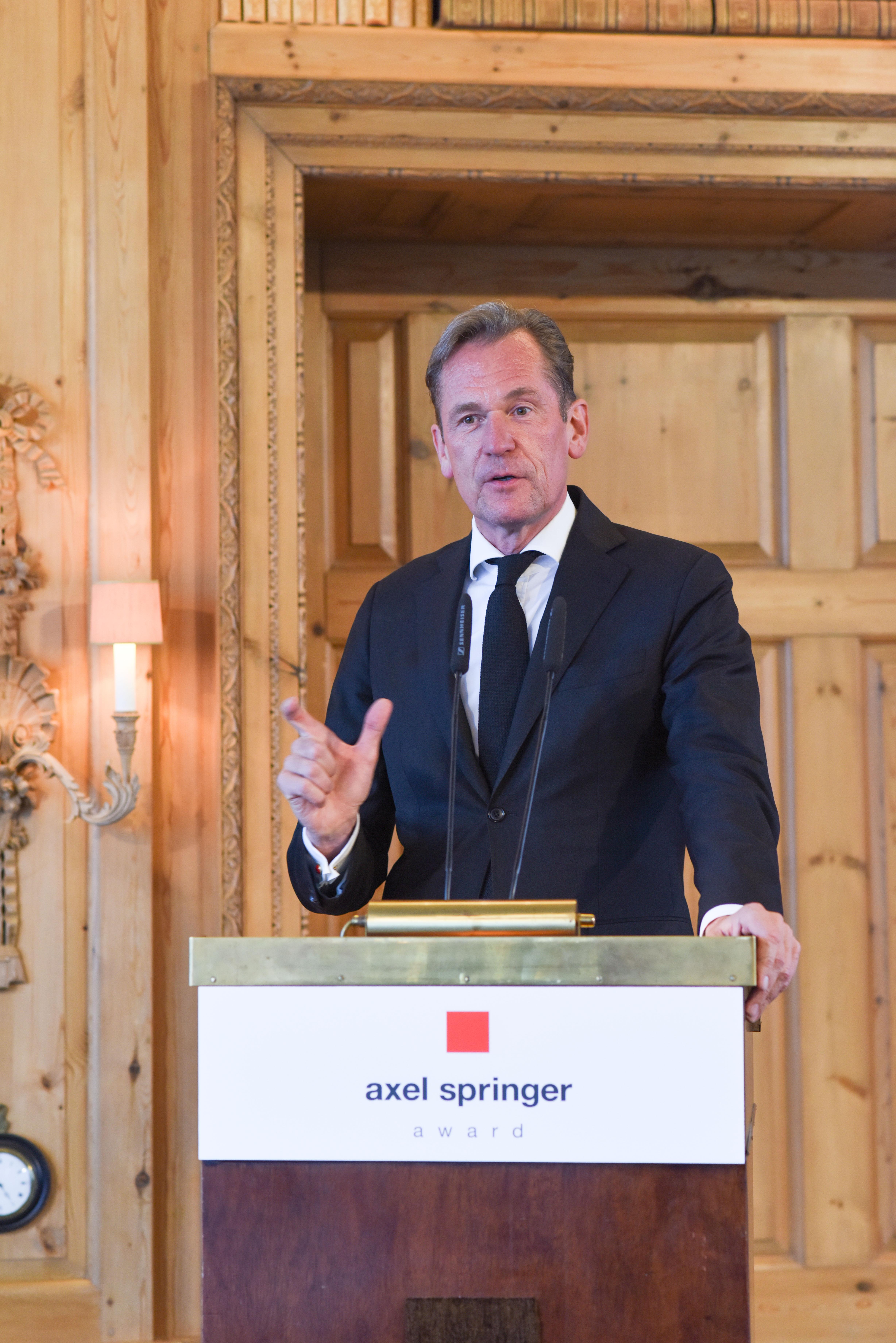 Berlin, 2.5.2017 Verleihung des Axel-Springer Award an Sir Tim Bernes-Lee. Unter den Gästen: