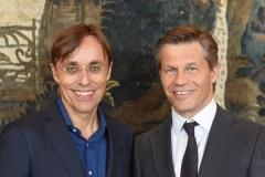Berlin, 2.5.2017 Verleihung des Axel-Springer Award an Sir Tim Bernes-Lee. Unter den Gästen: Andreas Wiele und Frank Briegmann