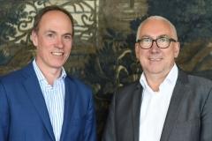 Berlin, 2.5.2017 Verleihung des Axel-Springer Award an Sir Tim Bernes-Lee. Unter den Gästen: Christoph Keese und Verbraucherchef Gerd Billen