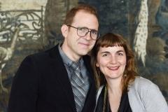 Berlin, 2.5.2017 Verleihung des Axel-Springer Award an Sir Tim Bernes-Lee. Unter den Gästen: Craig Fagan und Karyn Riegel Fagan